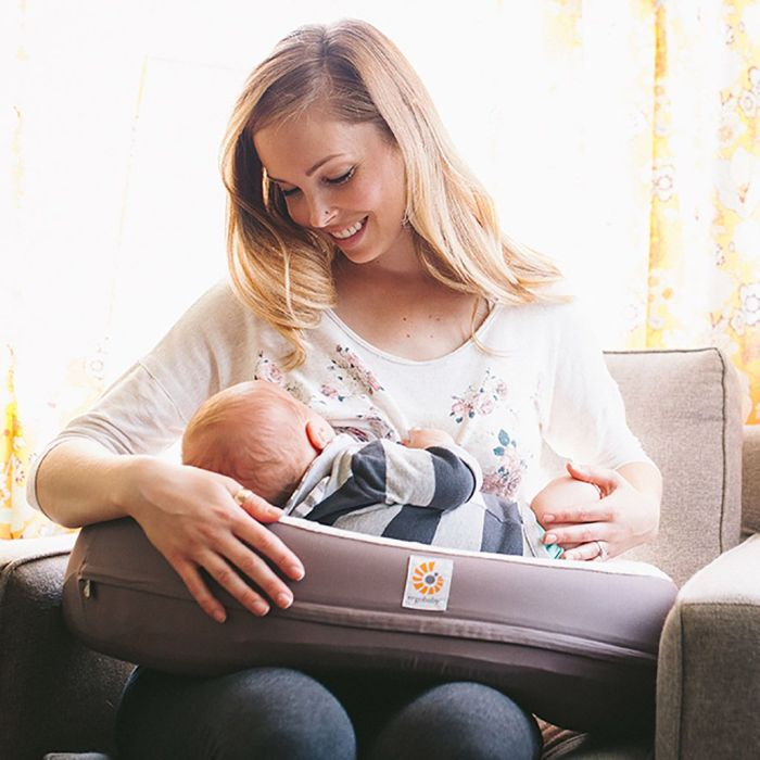 Ergobaby Nursing Pillow - A fabulous baby registry item. See the rest on our baby registry checklist!
