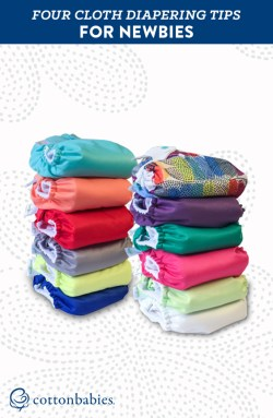 4 tips beginners can use when switching to cloth diapers.