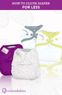 How to Cloth Diaper for Less Money