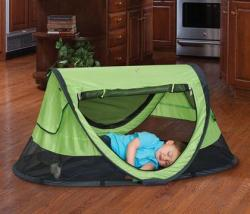 Peapod - provides protection from sun and bugs