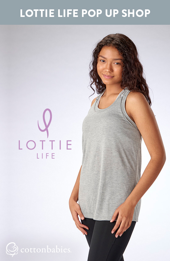 Save on nursing apparel during World Breastfeeding Week at the Cotton Babies + Lottie Life Pop Up Shop on 8.4.18 at Cotton Babies.