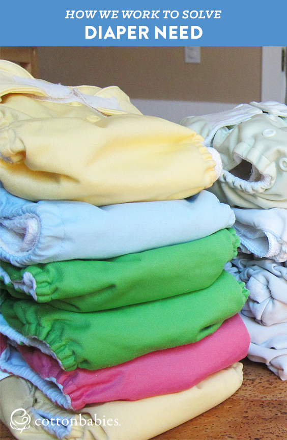Share the Love Cloth Diaper Bank works to put an end to diaper need. Learn how cloth diapers can help.