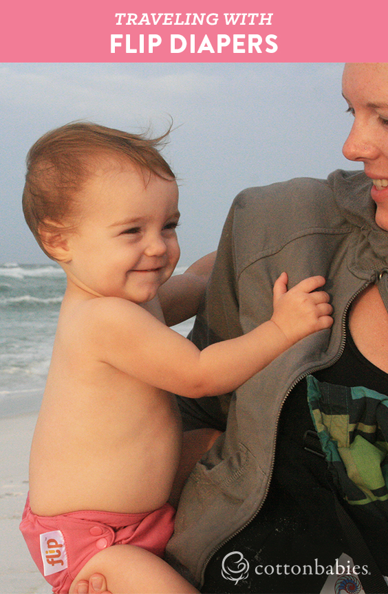 Tips for making travel easier with Flip diapers