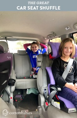 As kids grow and change car seats, it can be like a puzzle trying to find the best arrangement for your vehicle. Read one CSPT's story.