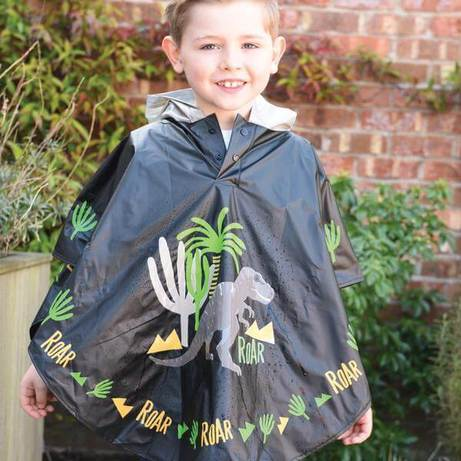 Color-changing dino poncho - because clothing can be cool, too!