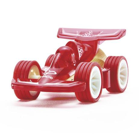 Speed into their heart with a Hape Racecar