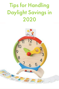 Tips for Handling the end of Daylight Savings in 2020 #parenting