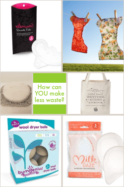 Easy switches to help create less waste. #cottonbabies #green #goinggreen #reusable