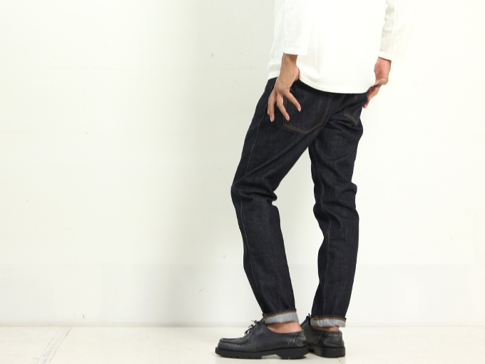 Ordinary Fits (オーディナリーフィッツ) 5POCKET MODERNS DENIM one wash