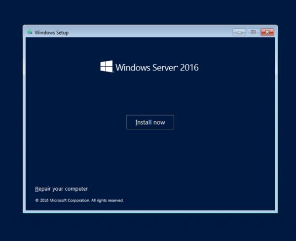Windows Server 2016 Using VirtualBox | The Couchbase Blog