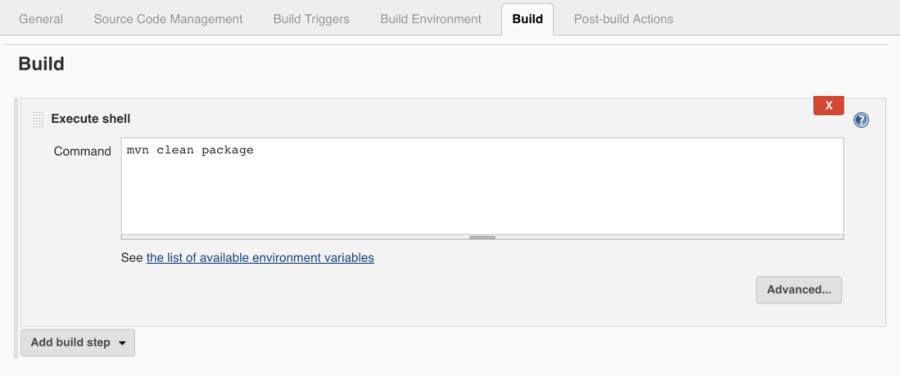 Jenkins Build Java Project