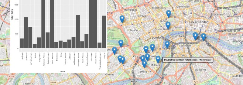 R Programming With Coucbhase NoSQL Queries & Maps