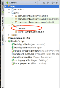 android studio assets