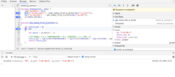 Online Real-Time Javascript Debugger