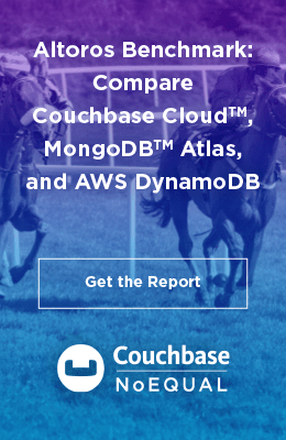 Altoros Bechmark: Compare Couchbase Cloud, MongoDB Atlas, and AWS DynamoDB