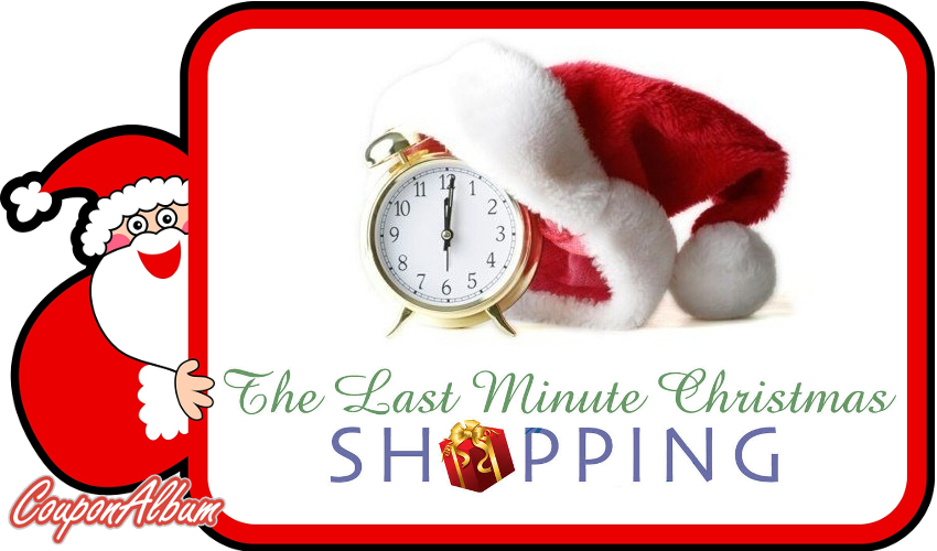 Discount Coupons And Sales For Last Minute Christmas