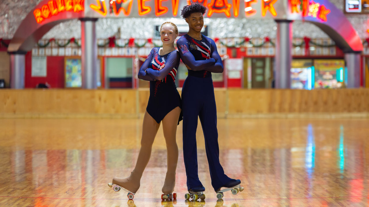 Meet This Cps National Figure Roller Skating Champ