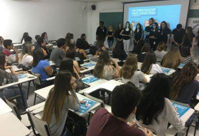 Workshop para a segunda fase do Einstein reúne 70 vestibulandos no CPV