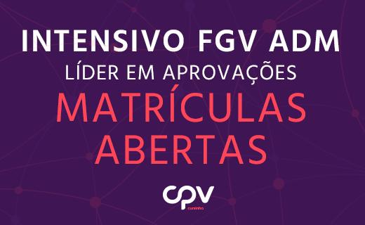 Intensivo Vestibular FGV ADM