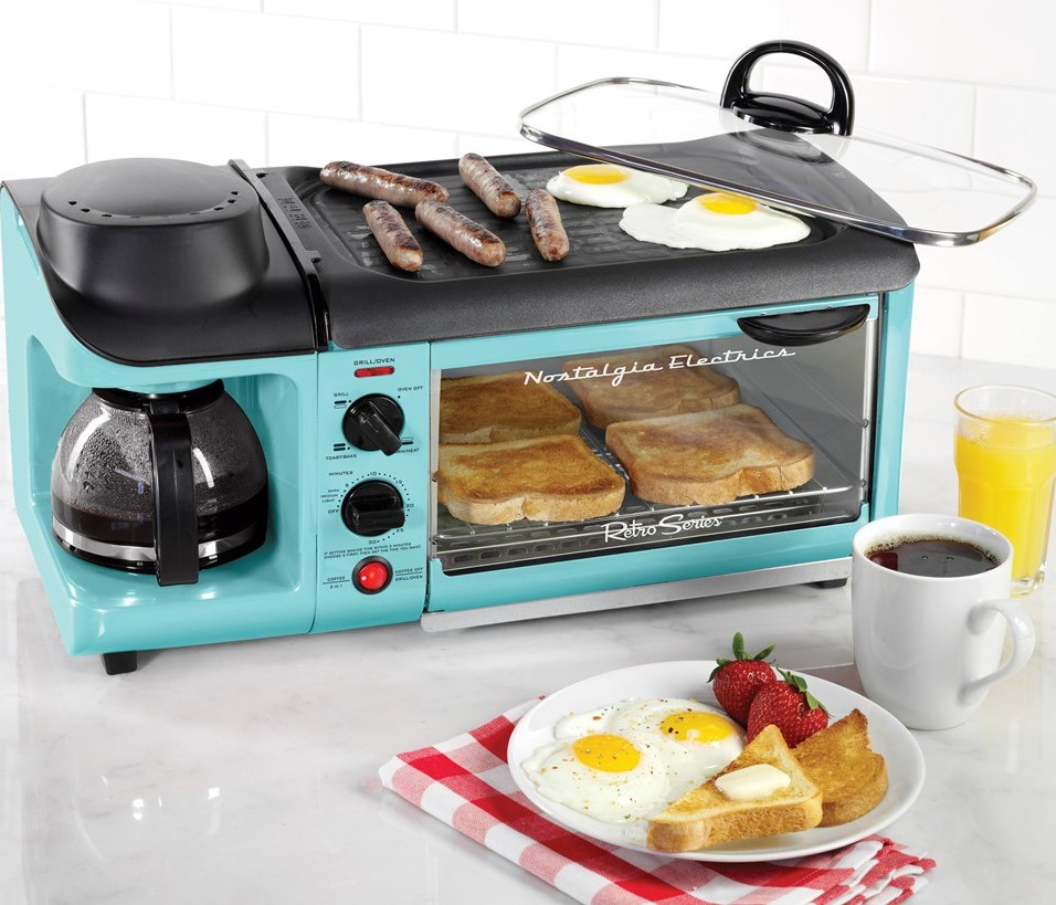 Retro 3-in-1 Breakfast Station
