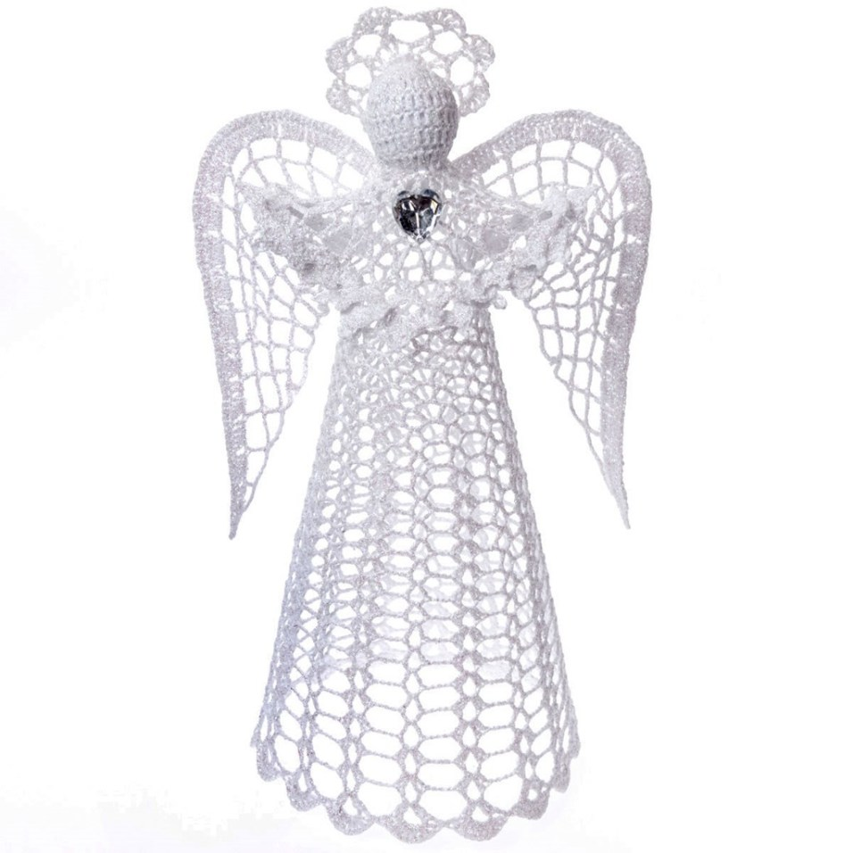 Crochet Angel Tree Topper