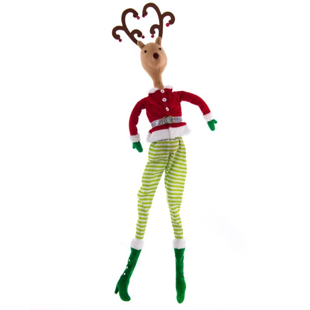 Boy Reindeer Tree Topper