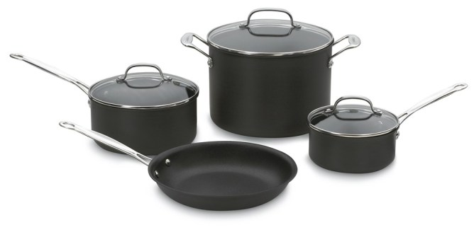 Cuisinart Non-Stick 7-Piece Cookware Set