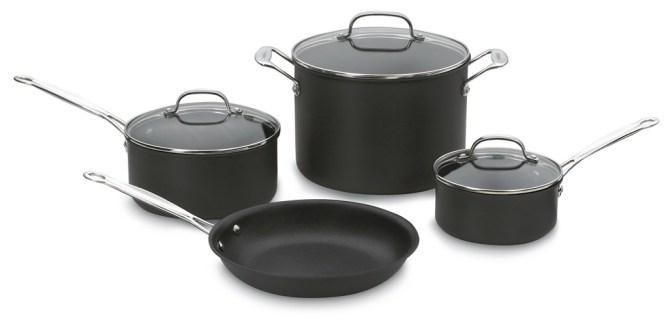 Cuisinart Non-Stick 7-Piece Cookware Set