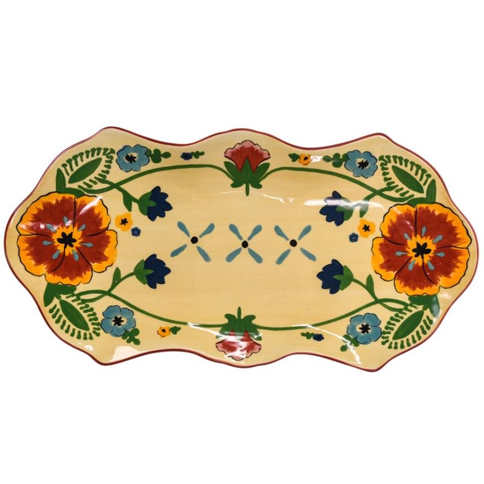Stoneware Ranch Platter