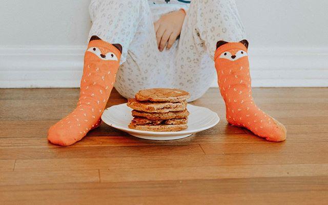 Fox Socks and Pancakes
