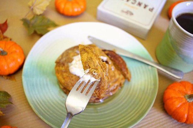 Pumpkin Pancakes and Oh Gussie