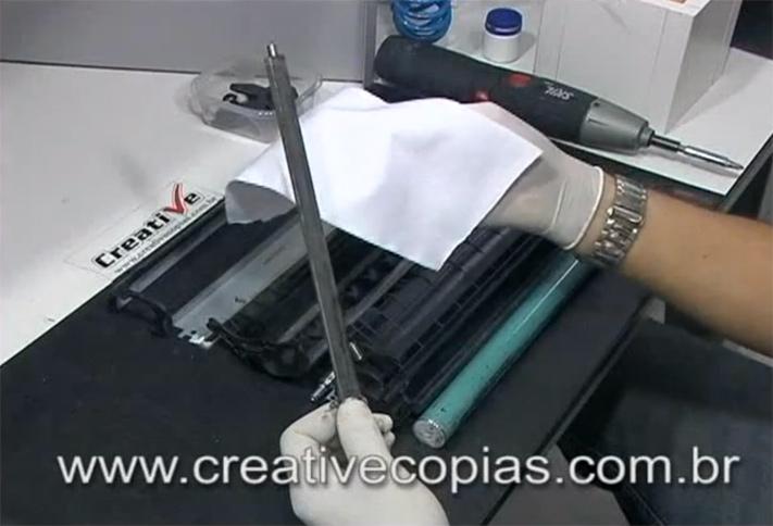 Limpar Rolo PCR