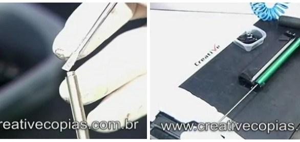 Eixo do cartucho de toner Samsung D-104