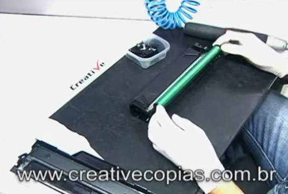 Cilindro do Cartucho de Toner D-104 Samsung