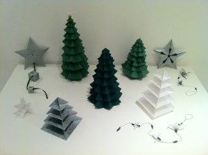 Origami como Enfeite de Natal 4