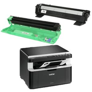 Impressoras multifuncionais: dcp1602 com toner e cilindro