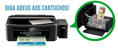 Impressoras tanque de tinta: Epson L365