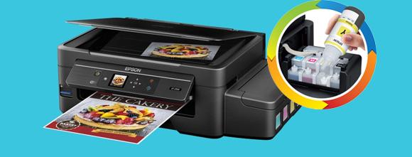 Impressora com tanque de tinta para driblar a crise