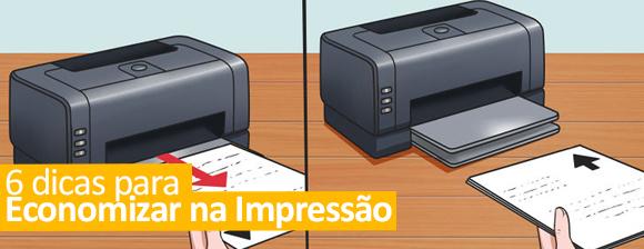 6 Dicas para economizar na impressão