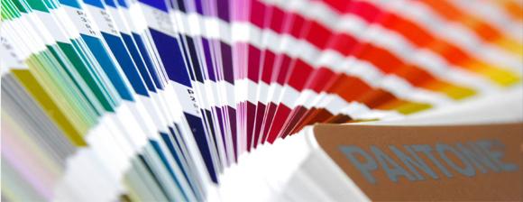 Sistemas de cores: escala Pantone