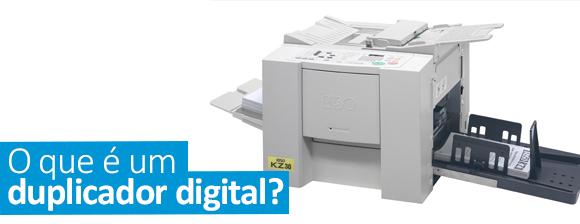 O que é um duplicador digital?