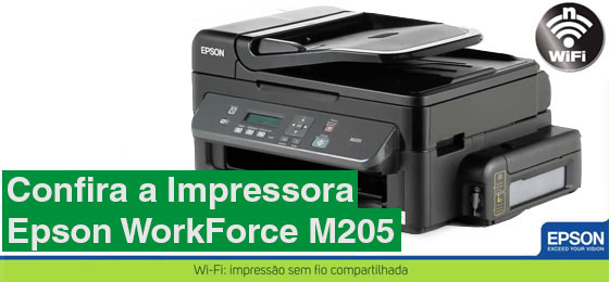 Impressora Epson WorkForce M205 thumb
