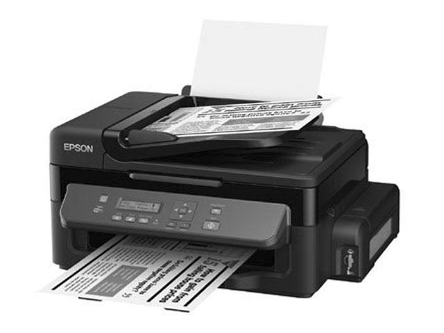Impressora Epson WorkForce WF-M205 M-205 | Monocromática Otimizada digitalizando e copiando