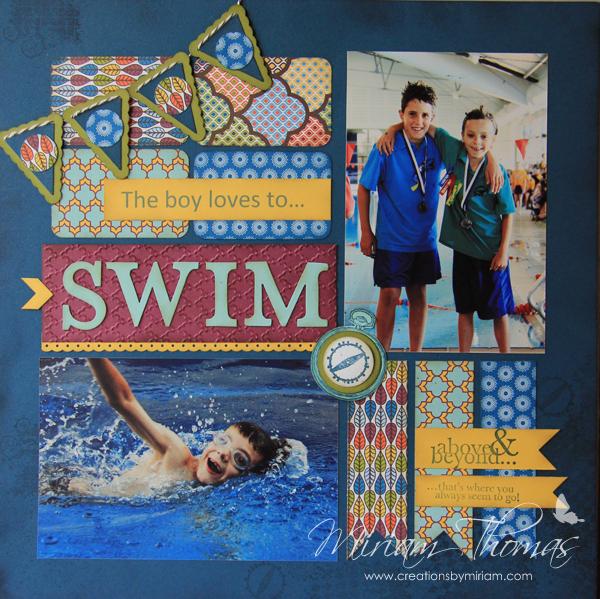 swim layout
