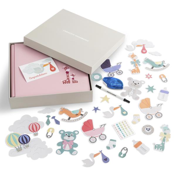creative_memories_baby_girl_gift_box_contents