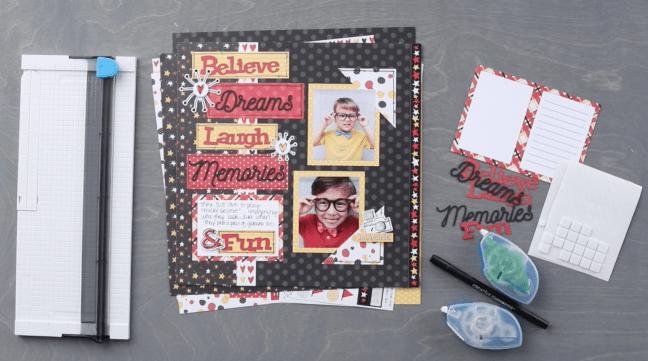 Imagine-Layout-Project-Laser-Cut-Embellishments-Creative-Memories