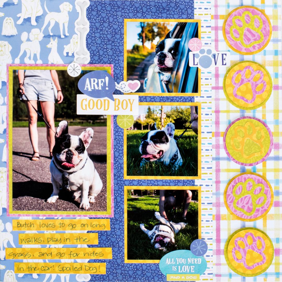 Best-In-Show-Dog-Scrapbook-Layout-Creative-Memories1