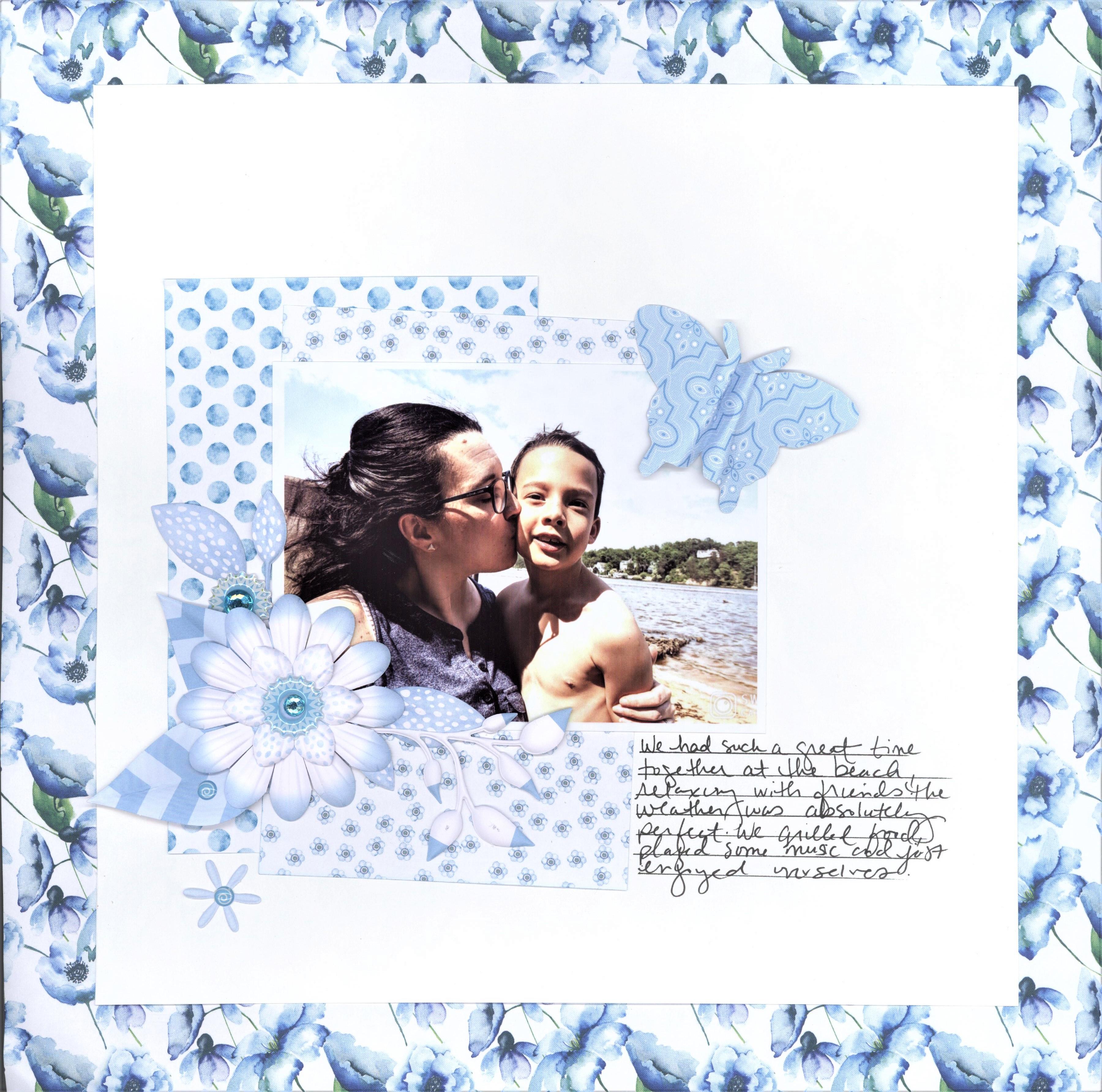 Mix & Match Blue Collection_Creative Memories 001