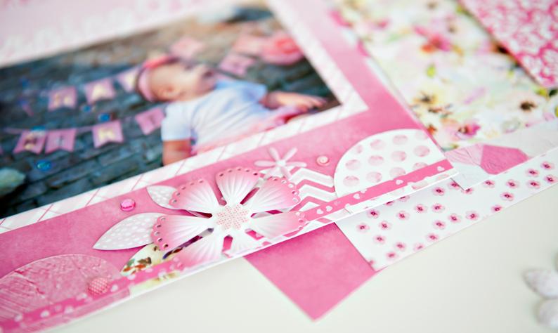 Mix-Match-Pink-Flower-Scrapbook-Layout-Creative-Memories4