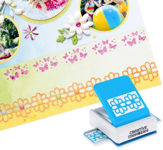 Mix-Match-Two-Page-Scrapbook-Layout-Punch-Creative-Memories